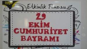BİLGE'DE CUMHURİYET COŞKUSU