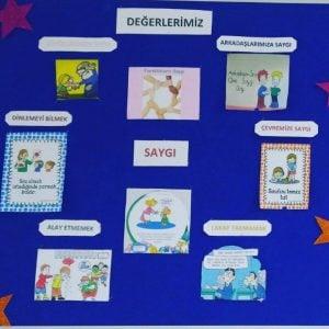 """DEĞERLER EĞİTİMİ """"SAYGILI OLMAK"""""""