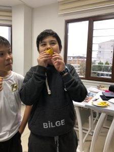 İngilizce Dersi Etkinlik